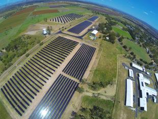 University of Queensland solar array