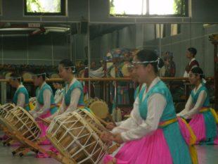 Korean drummers