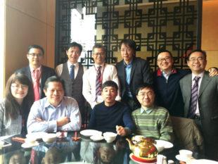 Thomas Cheong and eMBA classmates