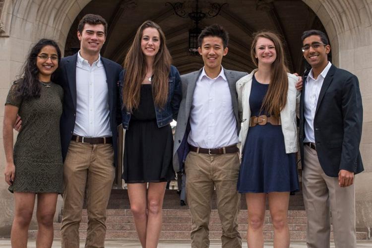 group photo of WOOTA team members