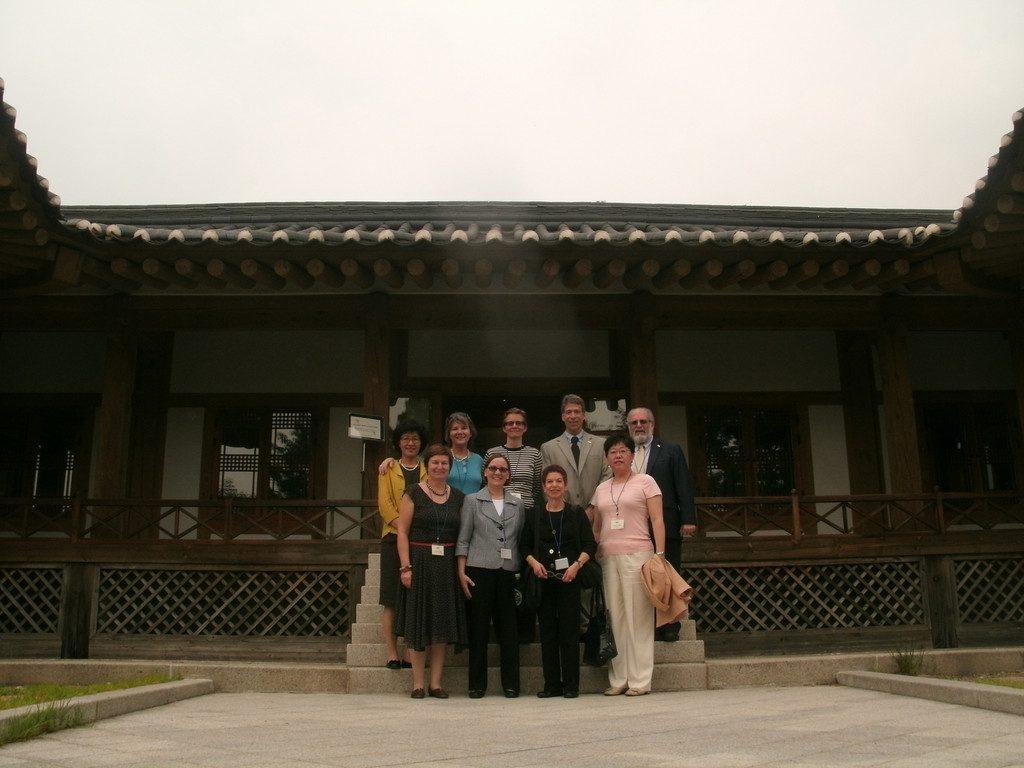 Fulbright International Educators at the Museum at Ewha University in Korea. (June 2013)