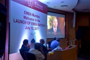 EMBA class in Mumbai