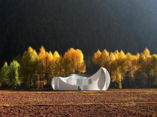 WashU 3D printed house