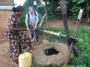 Water well Uganda