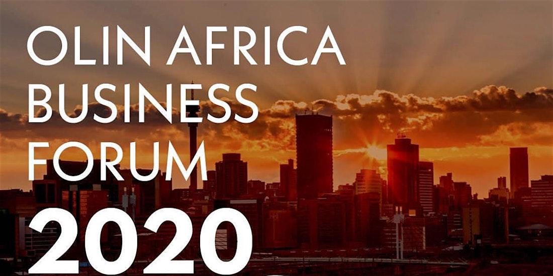 Olin Africa Business Forum 2020